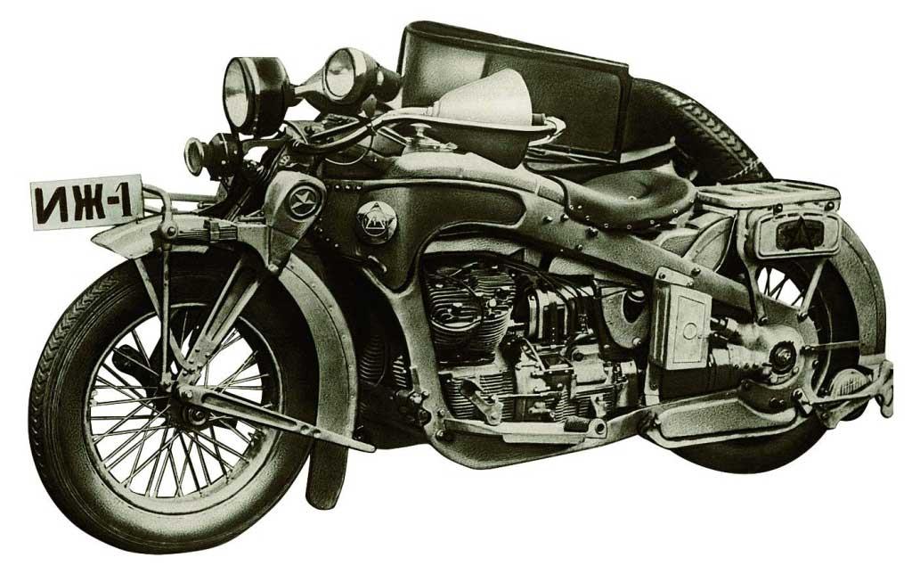 نخستین موتورسیکلت ایژ