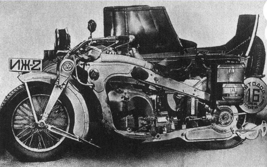 دومین موتور ساخت شوروی