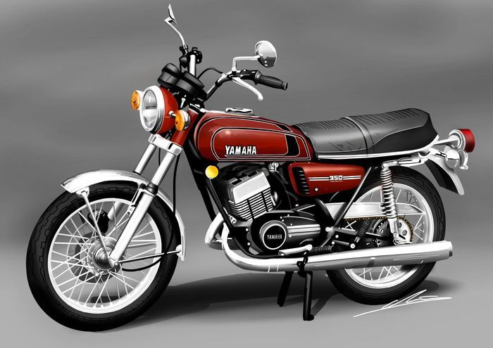 یاماها مدل آر.دی -350