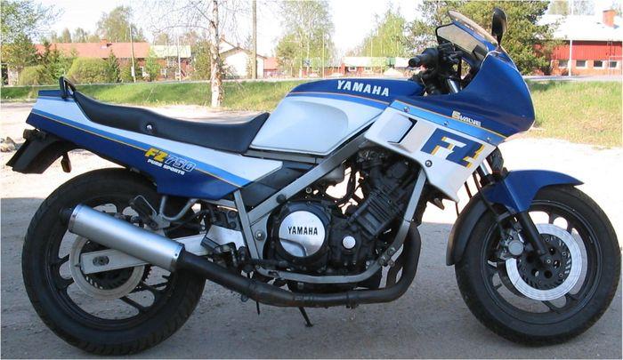 موتورسیکلت یاماها FZ 750