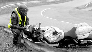 کیسه هوا در موتورسواری